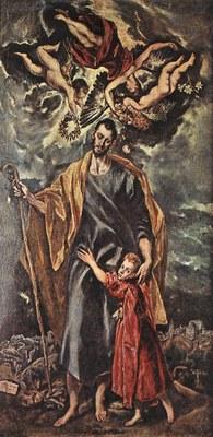 Giuseppe e Gesù bambino.El greco.jpg